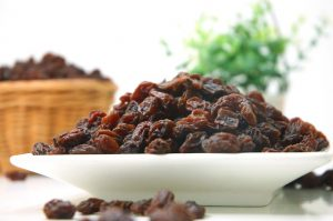 Mindfulness Exercise with Eating Raisins.