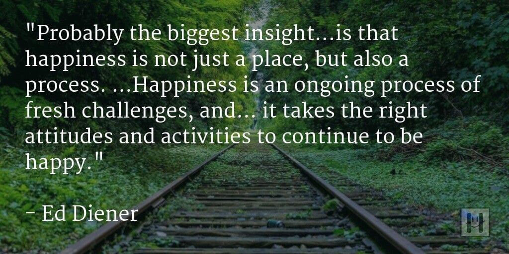 Ed Diener Positive Psychology Quotes