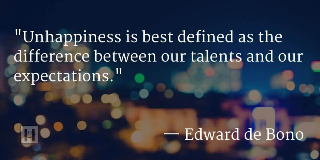 edward de bono positive psychology quotes