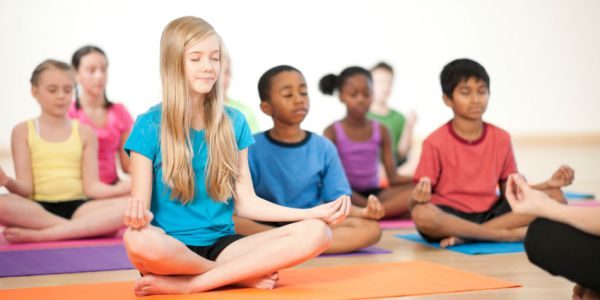 children practicing mindfulness - Mindfulness Meditation Techniques and Exercises for Classroom Setting