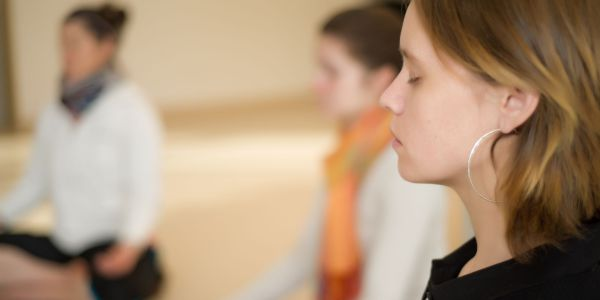 people meditating - On-site Mindfulness Training Courses