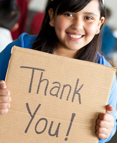 gratitude in classroom children