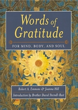 Words of Gratitude for Mind, Body, and Soul by Robert Emmons and Joanna Hill