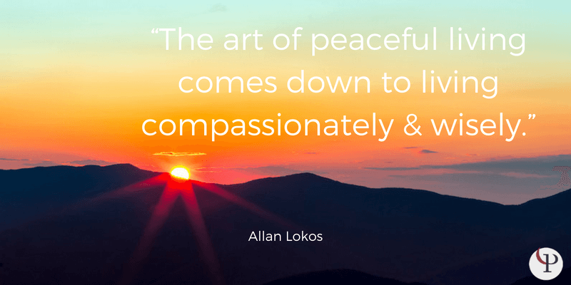 mindfulness quote allan lokos