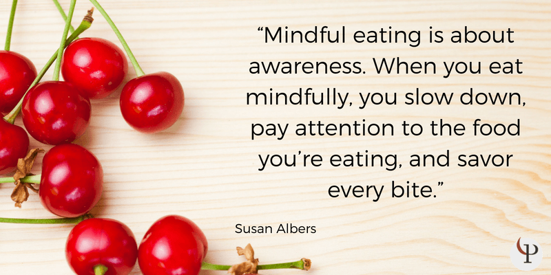 mindfulness quote susan albers