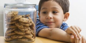 kid with cookies - self-regulation children