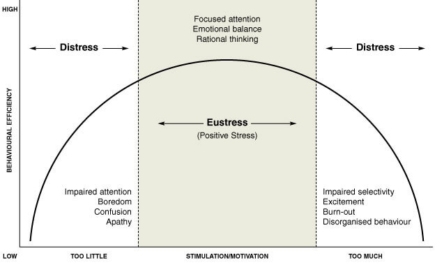 The Eustress Stress Diagram