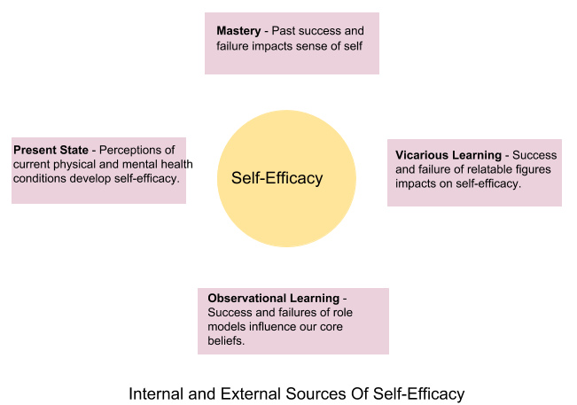Internal and External Sources of Self-Efficacy