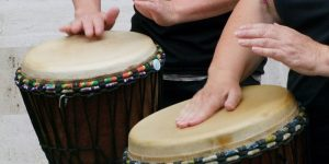 djembe drum for music therapy