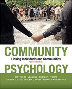 Community Psychology Linking Individuals