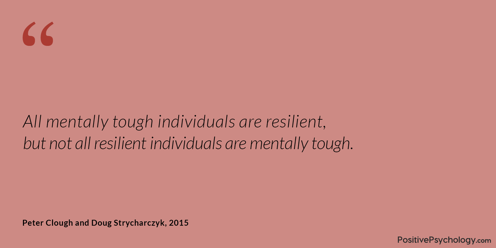 Clough and Strycharczyk Quote