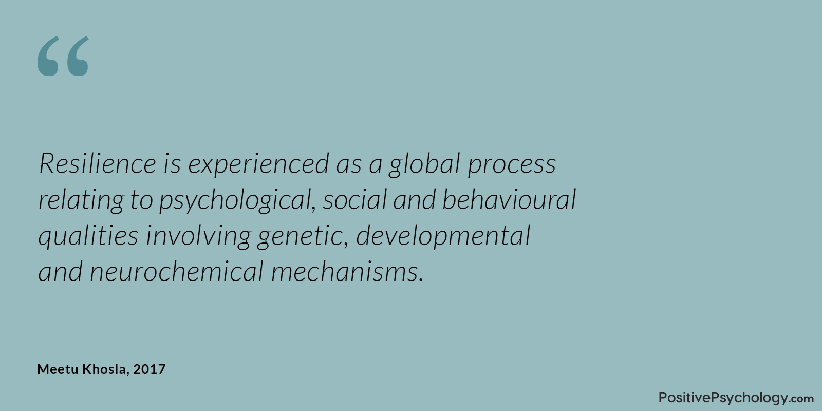 Khosla Resilience Global Process Quote