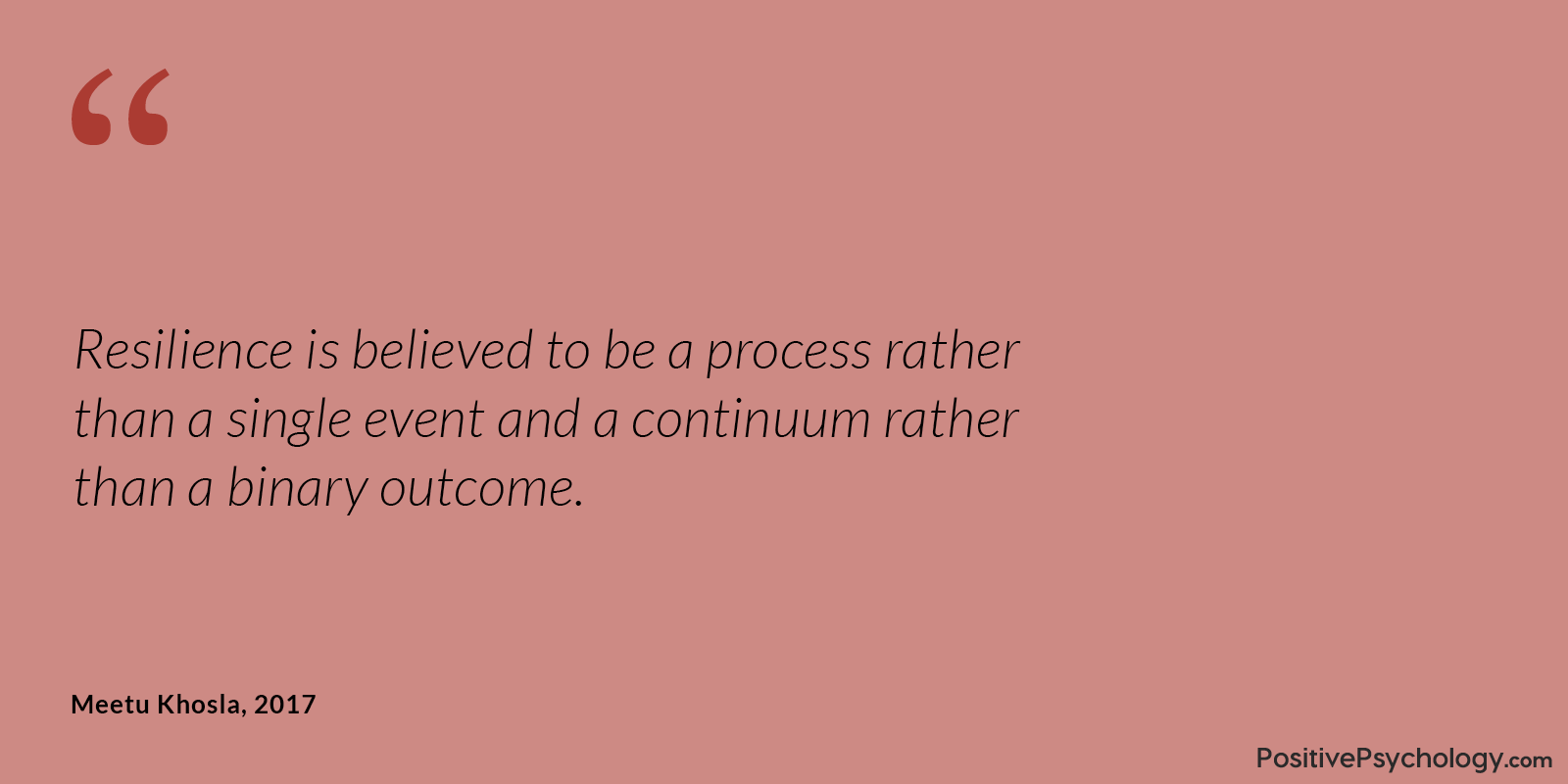 Khosla Resilience Process and Continuum Quote