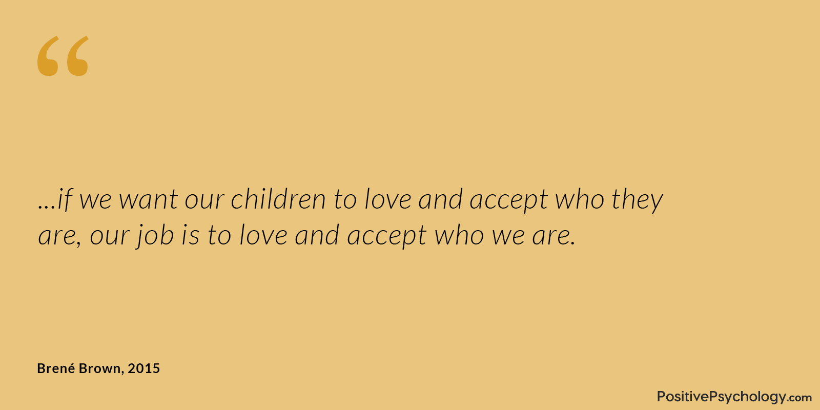Accept Who We Are