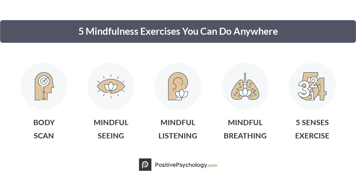5 Mindfulness Exercises You Can Do Anywhere