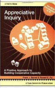 Appreciative Inquiry A Positive Approach to Building Cooperative Capacity