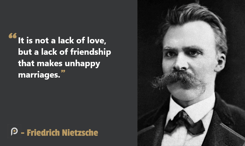 Friedrich Nietzsche Counseling Quotes for Relationships