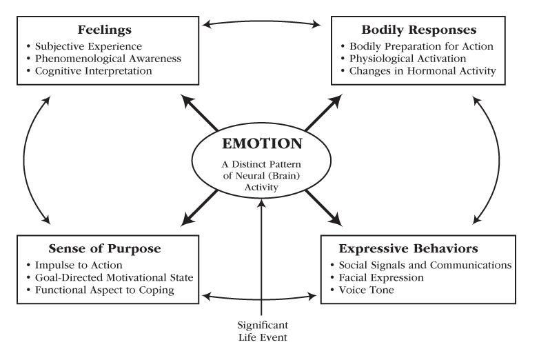 Motivation and Emotion diagram