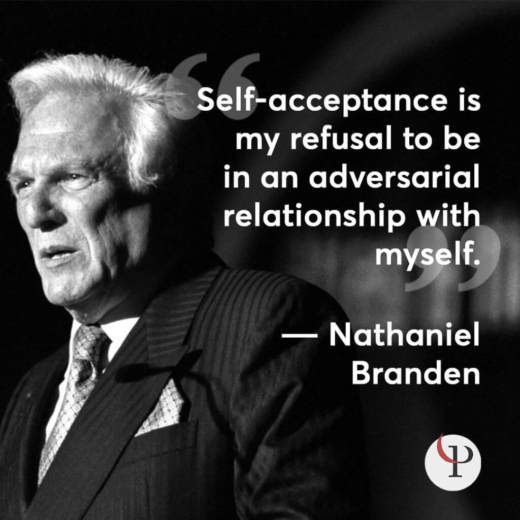 Nataniel Branden self-compassion quote