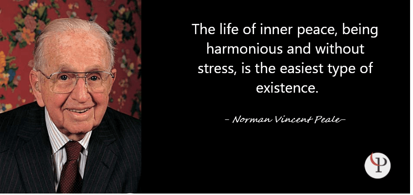 Norman Vincent Peale Quote on Peace