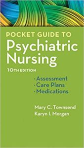 Pocket Guide to Psychiatric Nursing