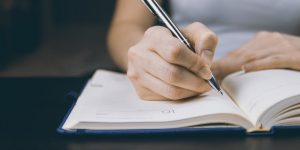 Writing as a therapy