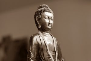 Buddha as Spiritual Center of Buddhism.