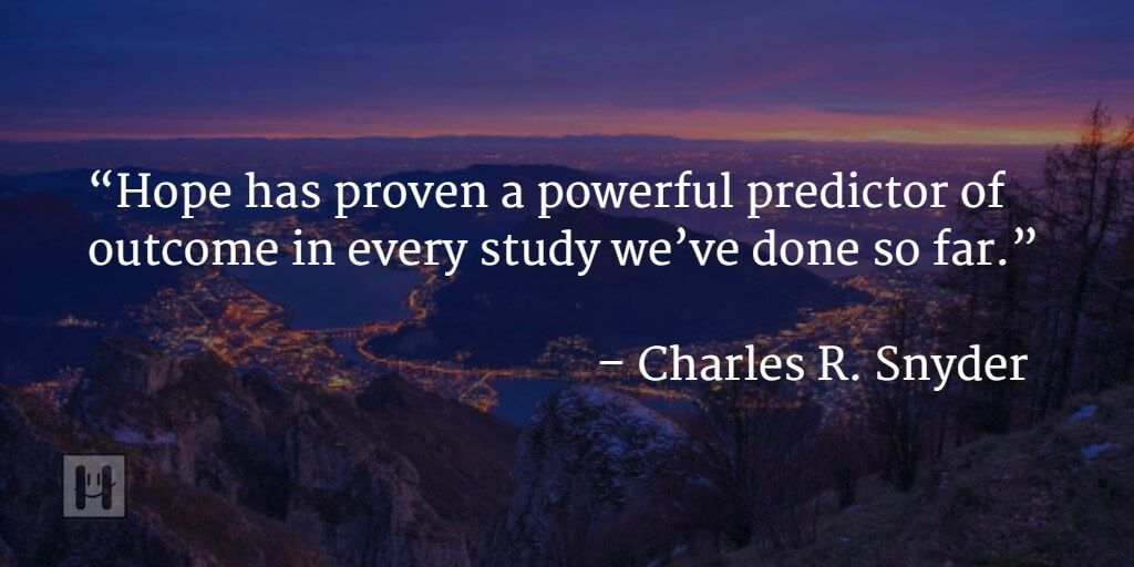 Charles R. Snyder Positive Psychology Quotes