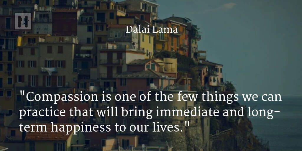 Dalai Lama Positive Psychology Quotes
