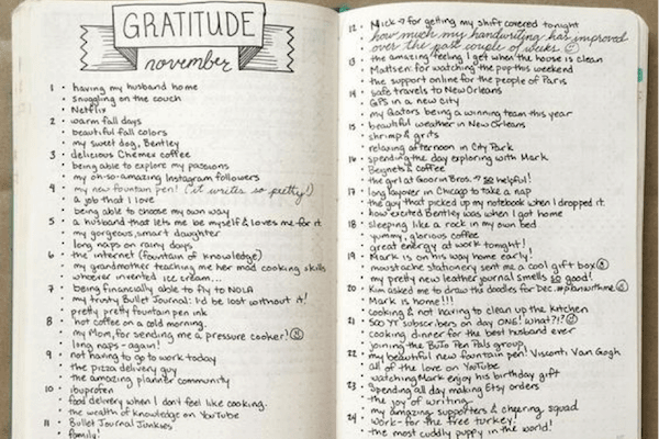 Tips to maintain positivity: Journaling