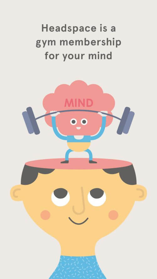 Daily Mindfulness Apps headspace app