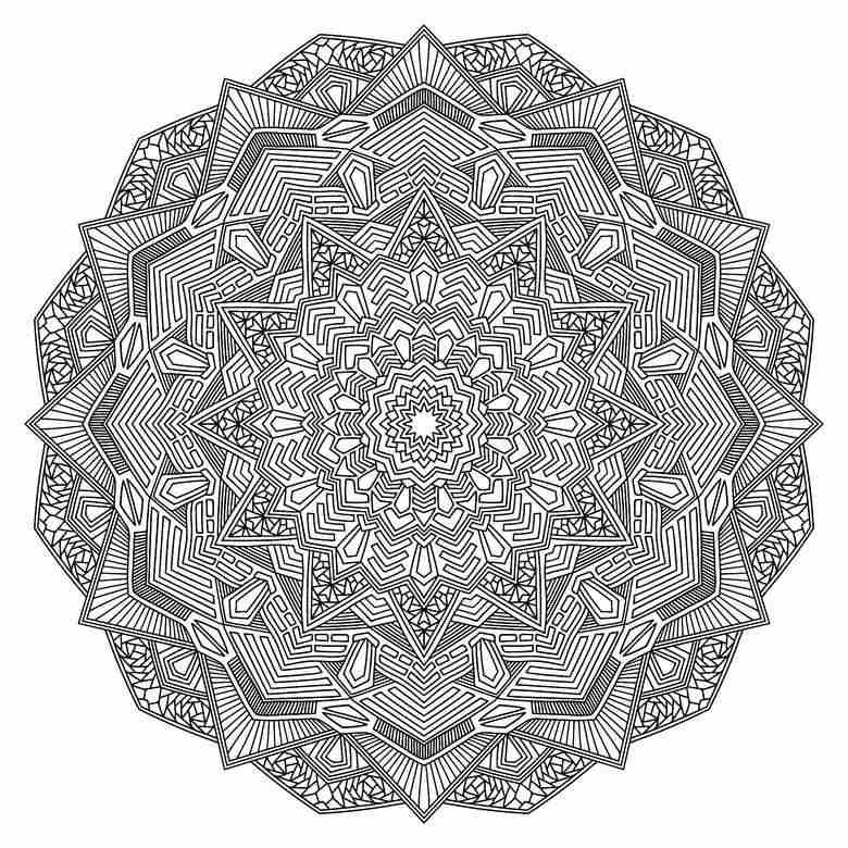 mandala for journaling