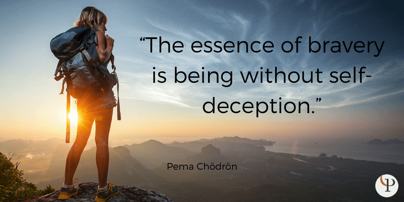 mindfulness quote pema chodron