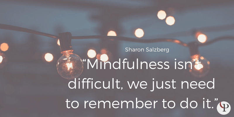 mindfulness quote sharon salzberg