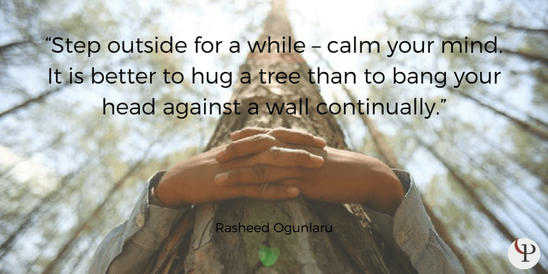 mindfulness quote rasheed ogunlaru
