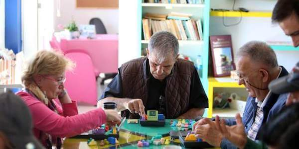elderly play therapy adults games