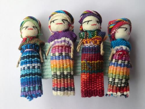 Worry Dolls play therapy kids