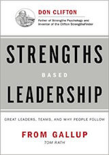 Rath, T. & Conchie, B. (2009). Strengths-Based Leadership. New York- Gallup Press.