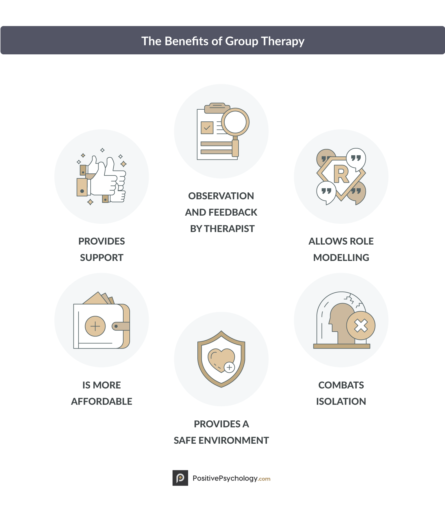 The 6 Benefits of Group Therapy